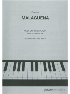 Ernesto Lecuona: Malaguena Books | Piano & Vocal