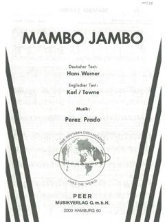 Perez Prado: Mambo Jambo Books | Klavier & Gesang