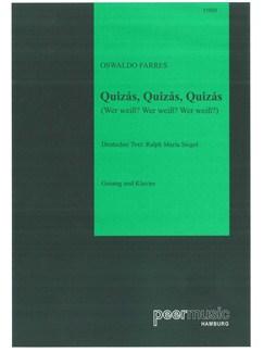 Oswaldo Farres: Quizas, Quizas, Quizas - Wer Weiß? Wer Weiß? Wer Weiß? Books   Piano & Vocal