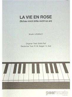 Edith Piaf: La Vie En Rose - Schau' Mich Bitte Nicht So An Books | Piano & Vocal