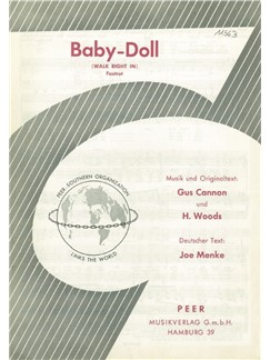 Gus Cannon/H. Woods: Baby-Doll (Walk Right In) Books | Klavier & Gesang
