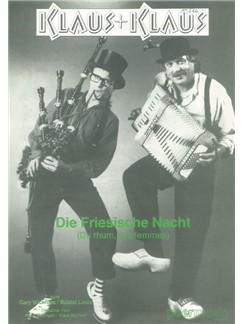 Klaus & Klaus: Die Friesische Nacht Books | Piano & Vocal