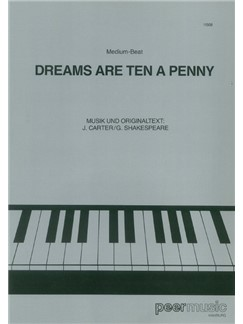 John Kincade: Dreams Are Ten A Penny Books | Klavier & Gesang