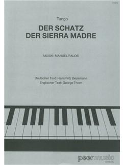 Manuel Palos: Der Schatz Der Sierra Madre Books | Piano & Vocal