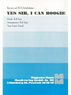 Baccara: Yes Sir, I Can Boogie Books | Piano & Vocal