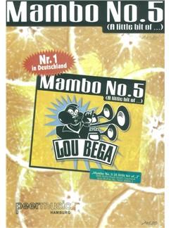 Lou Bega: Mambo No. 5 (A Little Bit Of …) Books | Piano & Vocal