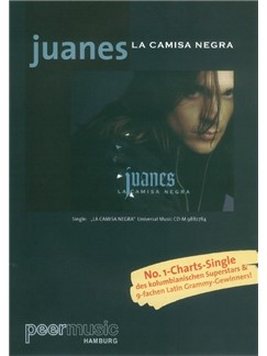 Juanes: La Camisa Negra Books | Piano & Vocal