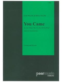 Kim Wilde: You Came Books | Piano & Vocal