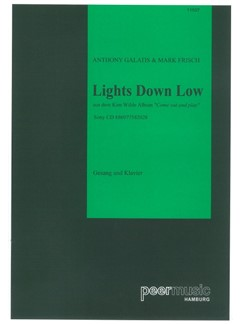 Kim Wilde: Lights Down Low Books | Klavier & Gesang