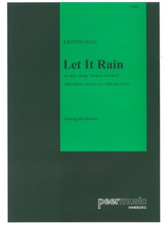 Amanda Marshall: Let It Rain Books | Piano & Vocal