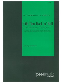 Bob Seger: Old Time Rock 'N' Roll Books | Piano & Vocal