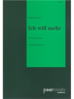Reto Scuol/Eleni Hellas: Ich Will Mehr Books | Piano & Vocal
