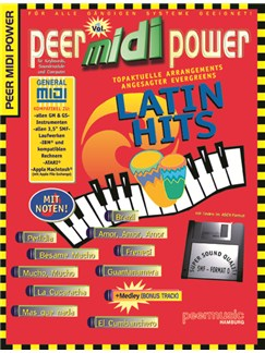 Peer Midi Power Vol. 1 - Latin Hits Books and CD-Roms / DVD-Roms | Keyboard
