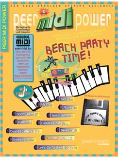 Peer Midi Power Vol. 5 - Beach Party Time! Books and CD-Roms / DVD-Roms | Keyboard