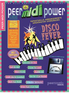 Peer Midi Power Vol. 6 - Disco Fever Books and CD-Roms / DVD-Roms | Keyboard