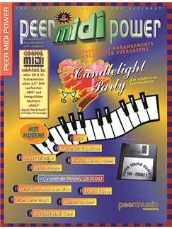 Peer Midi Power Vol. 8 - Candlelight Party Books and CD-Roms / DVD-Roms | Keyboard
