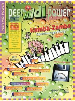 Peer Midi Power Vol. 9 - Ramba Zamba Stimmungs-Party Books and CD-Roms / DVD-Roms | Keyboard