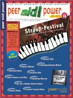 Peer Midi Power Vol. 10 - Strauß-Festival Books and CD-Roms / DVD-Roms | Keyboard