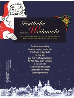 Festliche Weihnacht Für Streichquartett Books | String Quartet