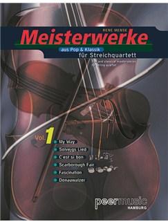 Meisterwerke Aus Pop & Klassik Für Streichquartett Vol. 1 (Stimmenset) Books | String Quartet