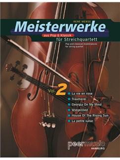 Meisterwerke aus Pop & Klassik für Streichquartett Vol. 2 (Taschenpartitur) Books | String Quartet