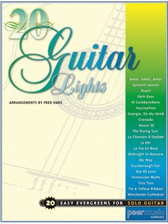 20 Guitar Lights - 20 Easy Evergreens For Solo Guitar Books | Guitar