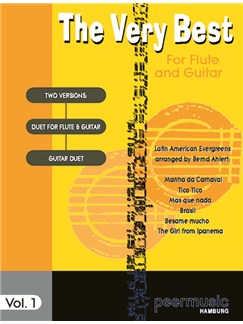 The Very Best For Flute And Guitar Vol. 1 - Latin Hits Books | Flute, Guitar