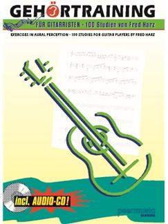 Fred Harz: Gehörtraining Für Gitarristen (Mit CD) Books and CDs   Guitar