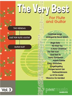 The Very Best For Flute And Guitar Vol. 3 - Christmas Songs Books | Flute, Guitar