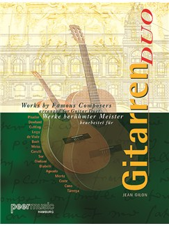 Werke berühmter Meister für Gitarren Duo Books | Guitar