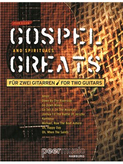 Gospel And Spirituals - For Two Guitars Books | Guitar