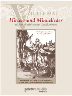 Voici Le Mai - Hirten Und Minnelieder Aus Dem Mittelalterlichen Nordfrankreich Books | Voice, Classical Guitar