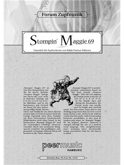 Ralph Paulsen-Bahnsen - Stompin Maggie 69 (Score) Books | String Orchestra