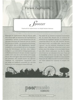Forum Zupfmusik: Spoozer (Bass) Books | Kontrabass