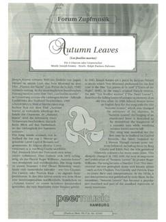Joseph Kosma: Autumn Leaves Books | Guitar (Quartet)