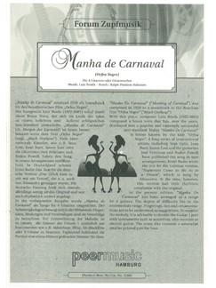 Luiz Bonfá: Manhã De Carnaval (Score) Books | Guitar (Quartet)