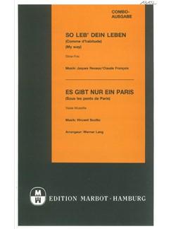 So Leb' Dein Leben/Es Gibt Nur Ein Paris (Combo) Books | Score