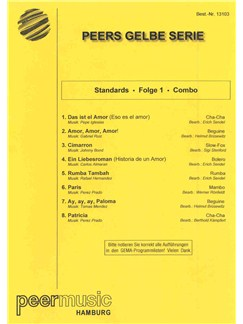 Peer's Gelbe Serie - Standards Folge 1 (Combo) Books | Score