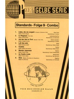 Peer's Gelbe Serie - Standards Folge 9 (Combo) Books | Partitur