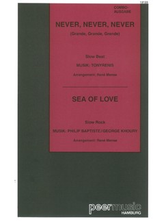 Never, Never, Never/Sea of Love (Combo) Books | Score