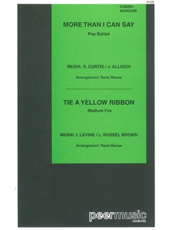 More Than I Can Say/Tie A Yellow Ribbon (Combo) Books | Score