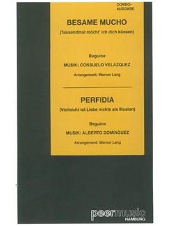 Bésame Mucho/Perfidia (Combo) Books | Score