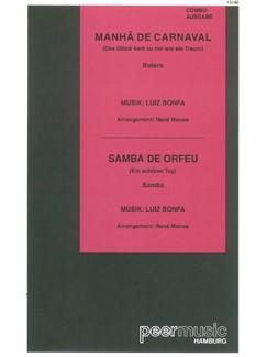 Manha De Carnaval/Samba De Orfeu (Combo) Books | Score