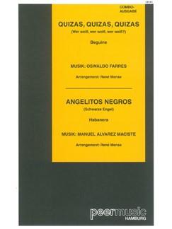 Quizas, Quizas, Quizas/Angelitos Negros (Combo) Books | Score