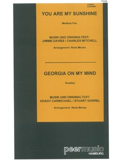 You Are My Sunshine/Georgia On My Mind (Combo) Books | Score