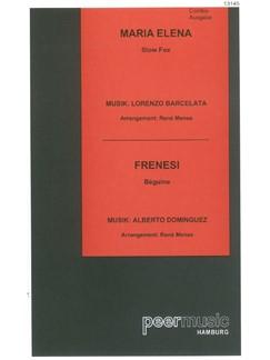 Maria Elena/Frenesi (Combo) Buch | Partitur