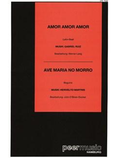 Amor, Amor, Amor / Ave Maria No Morro (Salonorchester Mit Ergänzerstimmen) Books | Orchestra