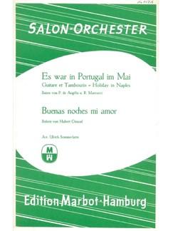Buenas Noches Mi Amor/Es War In Portugal Im Mai (Salon Orchestra) Books | Orchestra