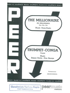 The Millionaire/Trumpet Conga (Salon Orchestra) Books | Orchestra