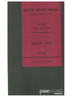 Never, Never, Never/Sea Of Love (Salon Orchestra) Books | Orchestra